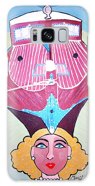 Pearl Of A Girl Galaxy Case