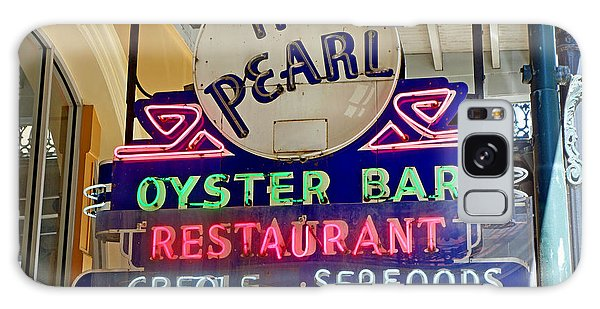 Pearl Oyster Bar Galaxy Case