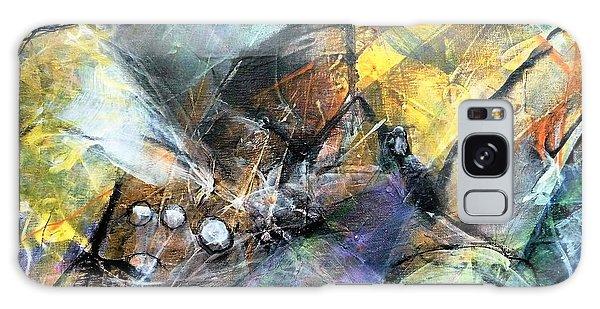 Pearls Of Wisdom Galaxy Case by Jim Whalen