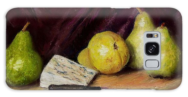 Pears And Cheese Galaxy Case by Jack Skinner