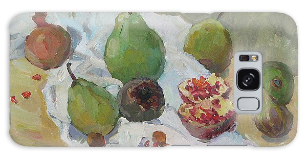 Pears Figs And Young Pomegranates Galaxy Case