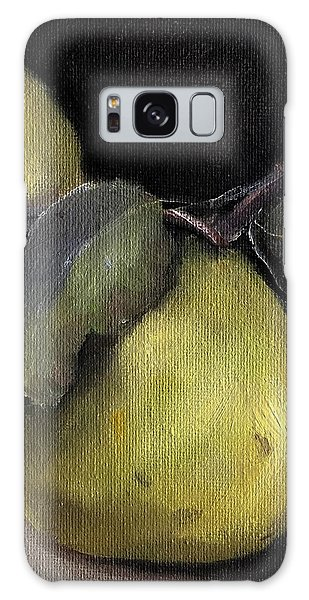 Pears Stilllife Painting Galaxy Case by Michele Carter