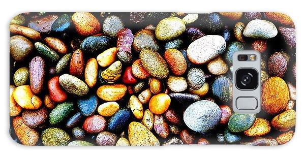 Pebbles On A Beach Galaxy Case