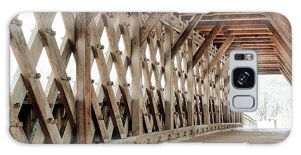 Pedestrian Bridge Guelph Ontario Galaxy Case
