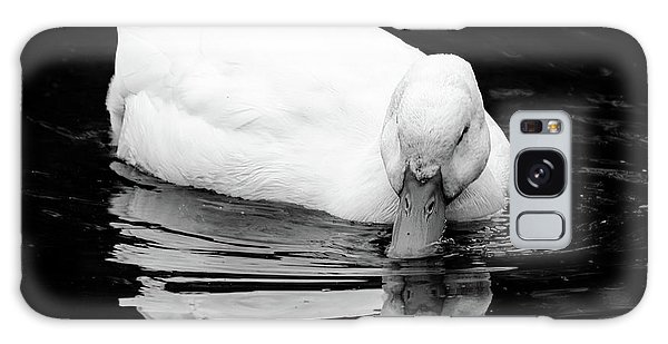 Peek-ing Duck Galaxy Case