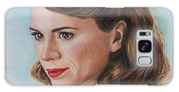 Peggy Carter / Hayley Atwell Galaxy Case
