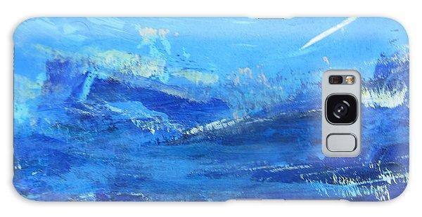 Peinture Abstraite Sans Titre 10 Galaxy Case