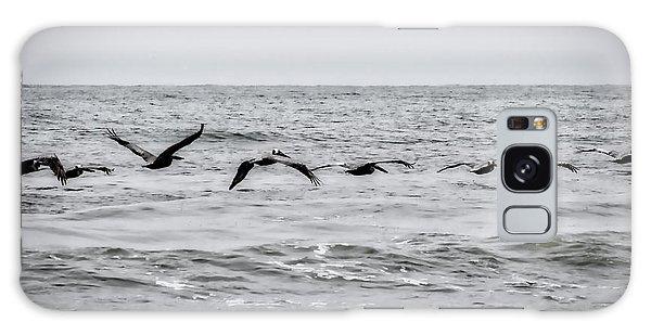 Pelican Black And White Galaxy Case