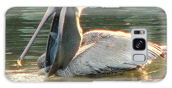 Pelican Dinner Galaxy Case