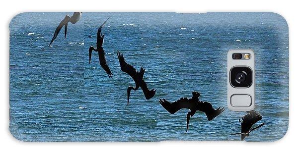 Pelican Dive 7 Photos In 2.5 Seconds Galaxy Case