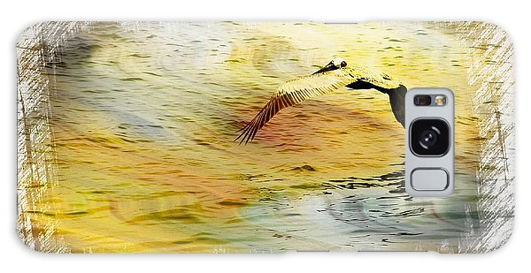 Pelican In Flight Galaxy Case by Athala Carole Bruckner