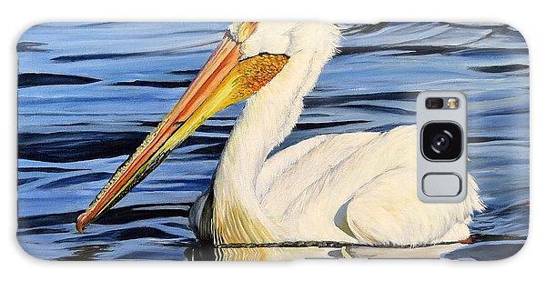 Pelican Posing Galaxy Case