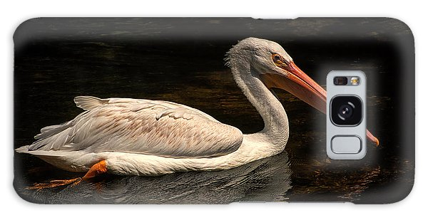 Pelican Swimming In Salisbury Galaxy Case