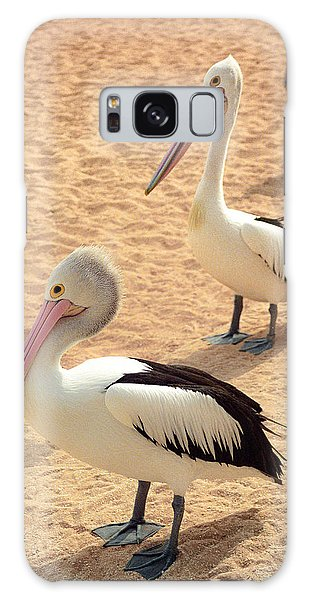 Pelicans Seriously Chillin' Galaxy Case