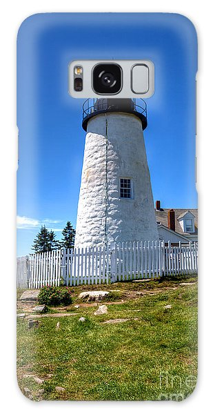 Pemaquid Point Lighthouse Galaxy Case
