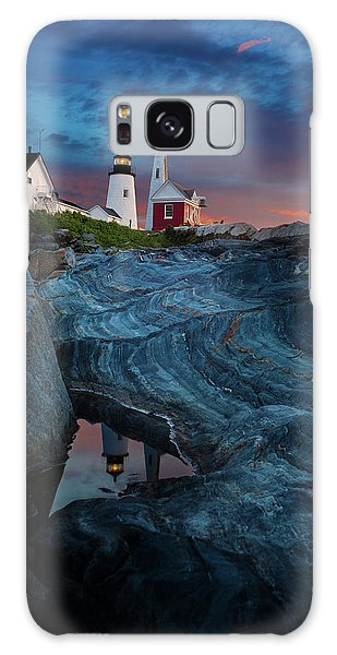 Pemaquid Lighthouse At Dawn Galaxy Case