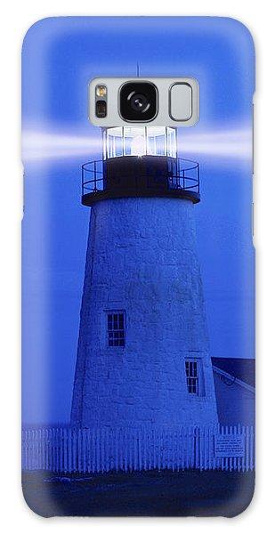 Pemaquid Lighthouse Galaxy Case by George Robinson