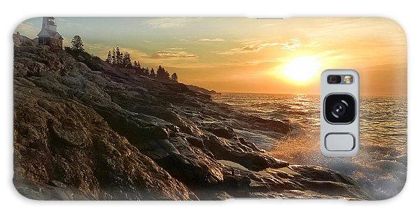 Pemaquid Lighthouse Galaxy Case