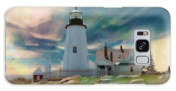 Pemaquid Lighthouse,maine Galaxy Case