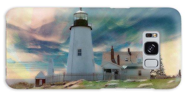 Pemaquid Lighthouse,maine Galaxy Case