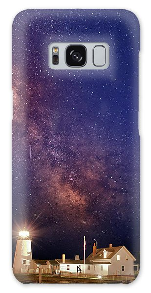 Pemaquid Point Lighthouse And The Milky Way Galaxy Case