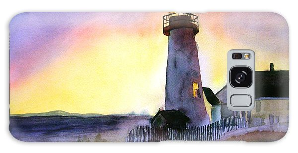 Pemaquid Point Lighthouse Maine Galaxy Case