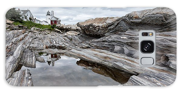 Pemaquid Point Lighthouse Galaxy Case