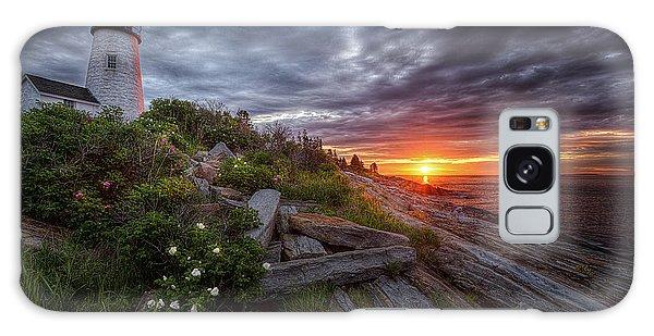Pemaquid Sunrise Galaxy Case