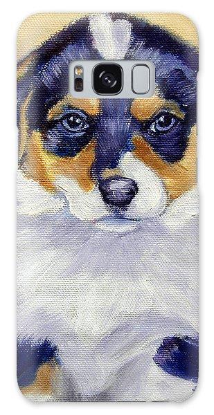 Pembroke Welsh Corgi Pup Galaxy Case