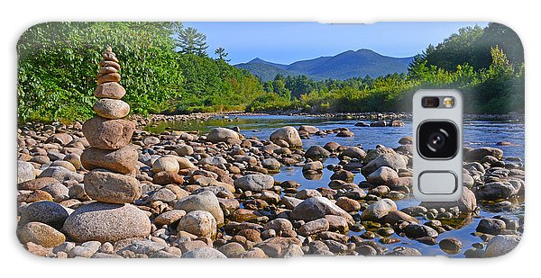 Galaxy Case featuring the photograph Pemigewasset River, North Woodstock Nh by Ken Stampfer