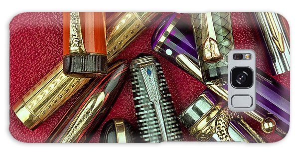 Swan Galaxy S8 Case - Pen Caps Still Life by Tom Mc Nemar