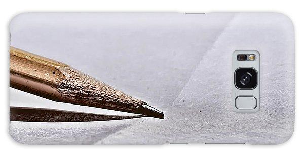 Pencil On Paper Galaxy Case
