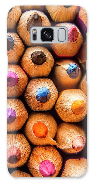 Colours Galaxy Case - Pencil Pointers by Jorgo Photography - Wall Art Gallery