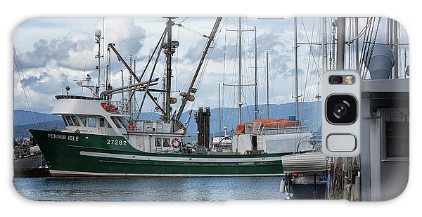 Pender Isle At French Creek Galaxy Case by Randy Hall