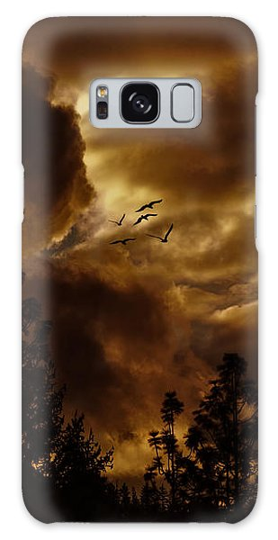 Pending Storm Galaxy Case by Diane Schuster