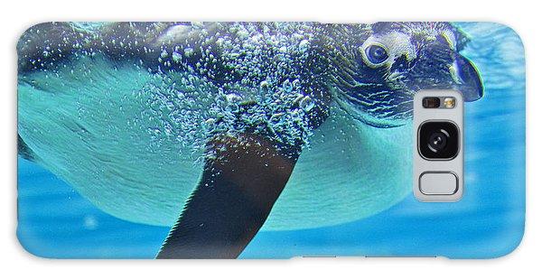 Penguin Dive Galaxy Case