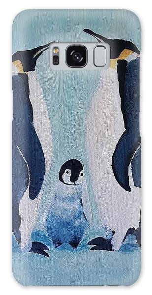 Penguin Family  Galaxy Case