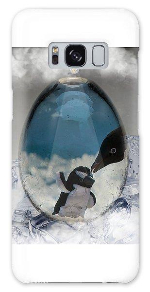 Penguins Art Galaxy Case