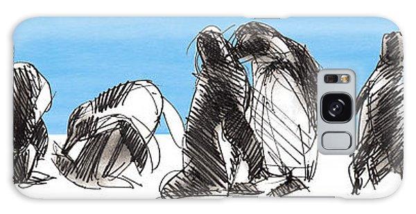 Penguins Galaxy Case
