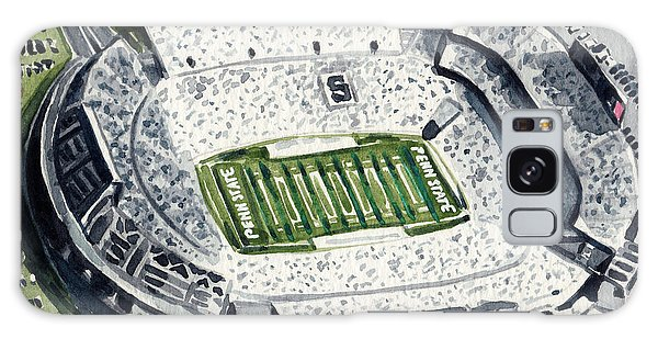 Penn State Beaver Stadium Whiteout Game University Psu Nittany Lions Joe Paterno Galaxy Case by Laura Row