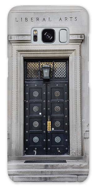 Penn State University Liberal Arts Door  Galaxy Case by John McGraw