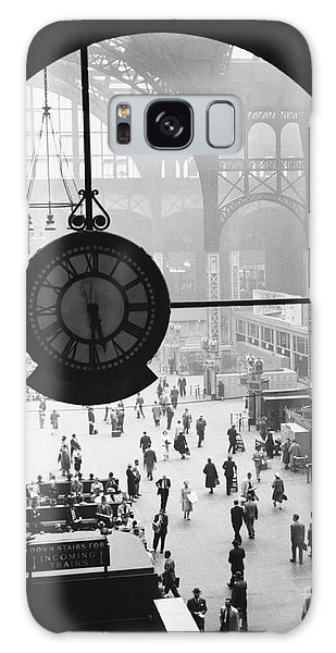 Penn Station Clock Galaxy Case