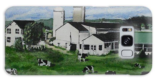 Pennsylvania Holstein Dairy Farm  Galaxy Case by Francine Heykoop