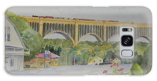 Pennsylvania - Nicholson Bridge Galaxy Case by Christine Lathrop