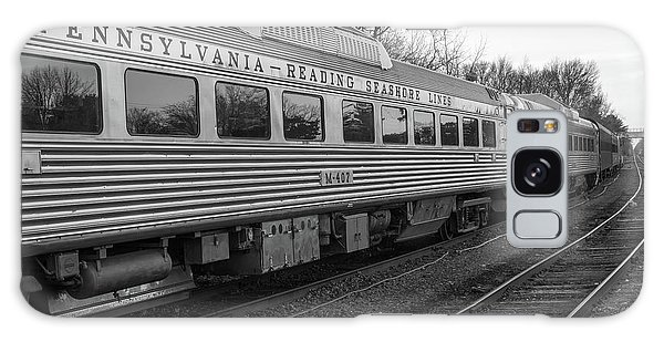 Pennsylvania Reading Seashore Lines Train Galaxy Case by Terry DeLuco