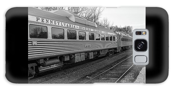 Pennsylvania Reading Seashore Lines Train Galaxy Case