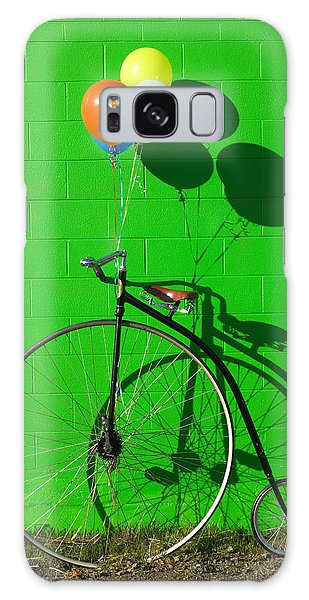 Penny Farthing Bike Galaxy Case