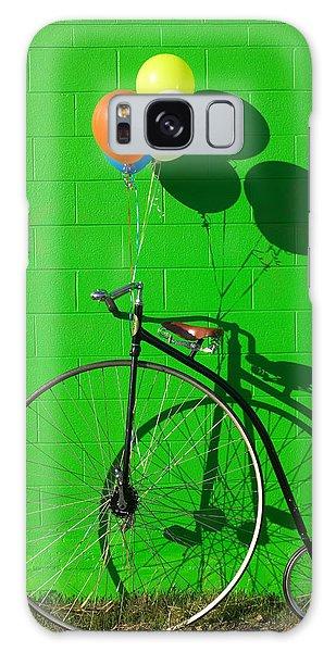 Bicycle Galaxy Case - Penny Farthing Bike by Garry Gay