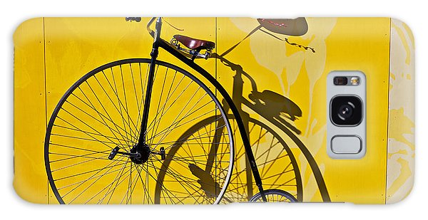 Bicycle Galaxy Case - Penny Farthing Love by Garry Gay