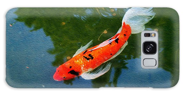 Pensive Koi Galaxy Case